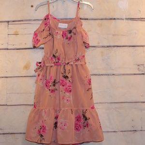 Girl's Size S/5-6 Peach Dress